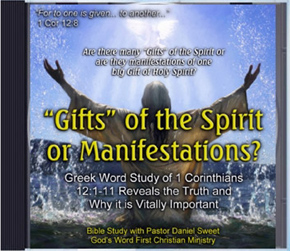 Gifts of the Spirit Manifestations